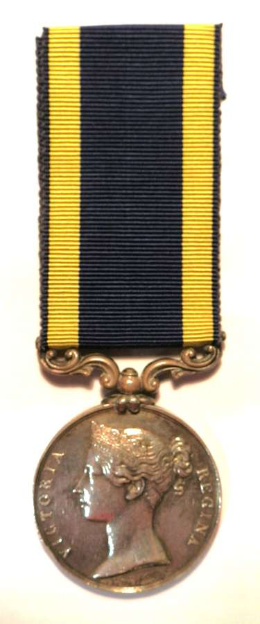 Punjab Medal 1848-49. Gnr Jessie House. 4th Co. Bengal Artillery.