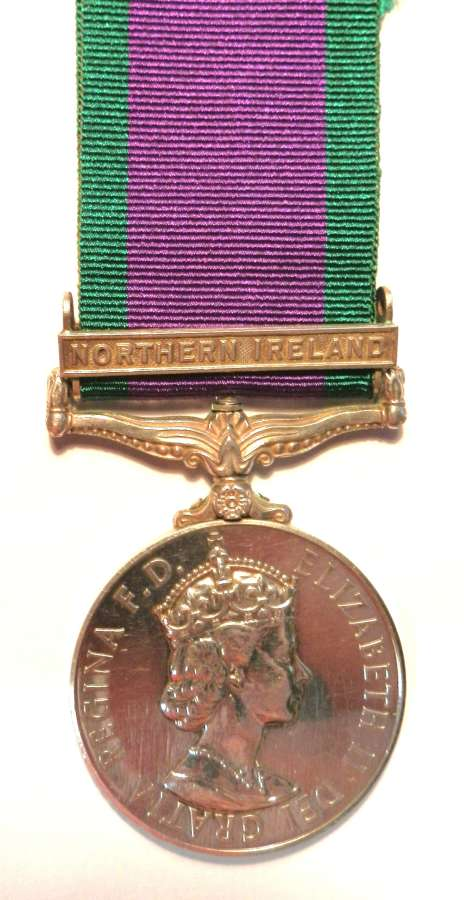 G.S.M. 62. Private M.K. Delea. Royal Hampshire Regement