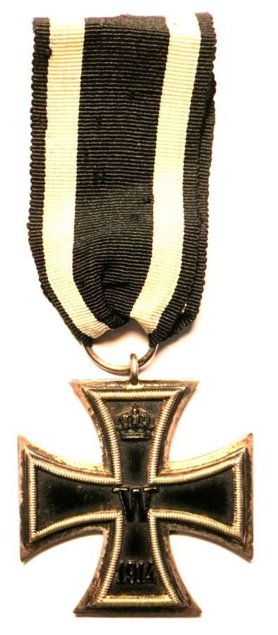 Imperial German WWI, Iron Cross 2nd Class. Makers Marked 800