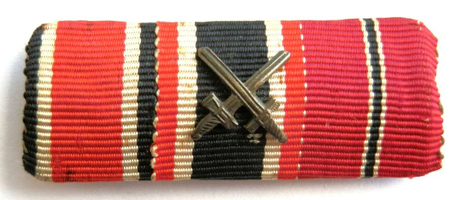 Wehrmacht Medal Ribbon Bar