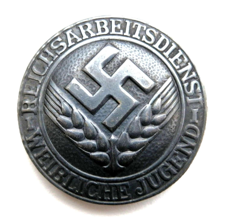 Reichsarbeitsdienst Weibliche Jugend Brosche
