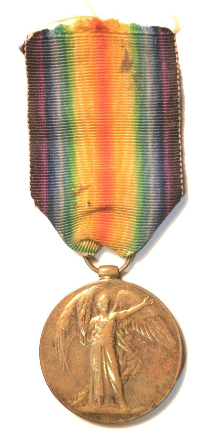 Victory Medal 3rd A.M. James Stanley Court R.A.F.