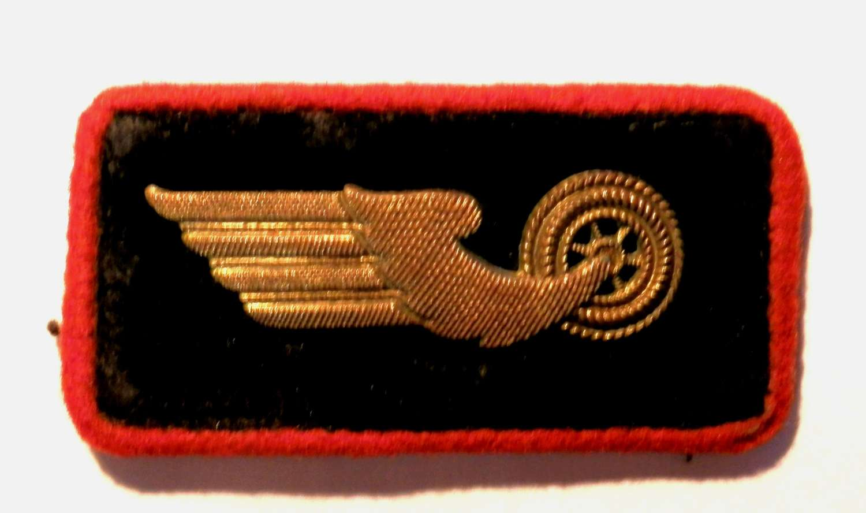 Deutsches Reichsbahn Personnel Collar Insignia