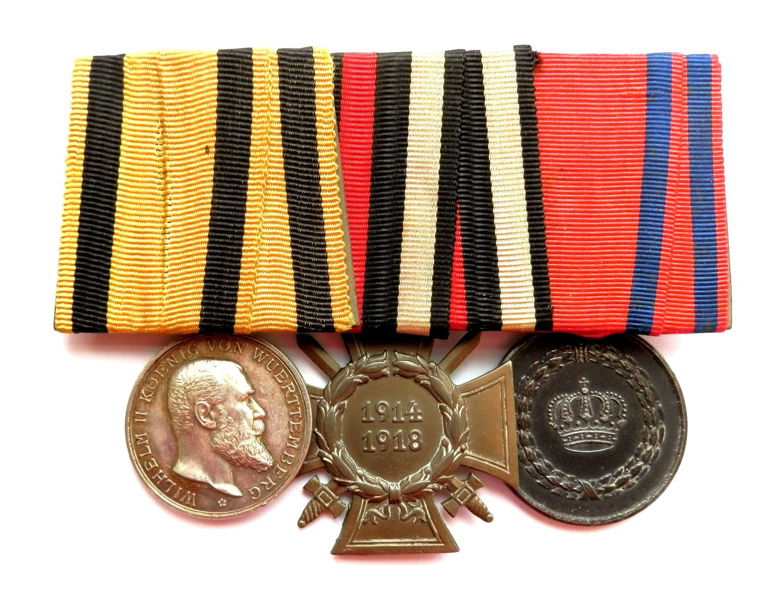 GROUP OF THREE. German Imperial Medal Group.