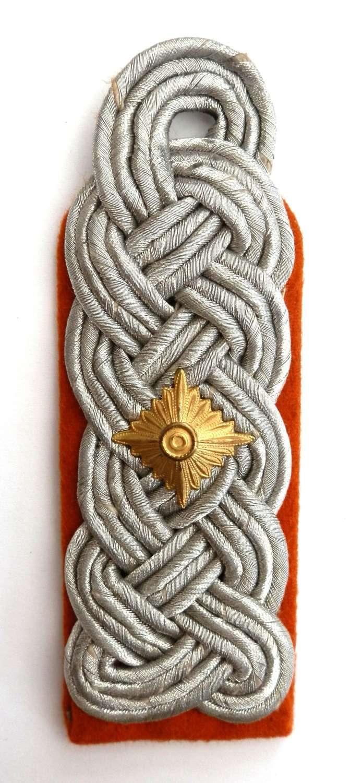 Wehrmacht Oberstleutnant (Major) Epaulet.