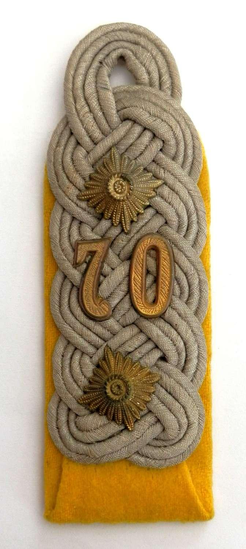 Wehrmacht Oberst (Major) Epaulete.