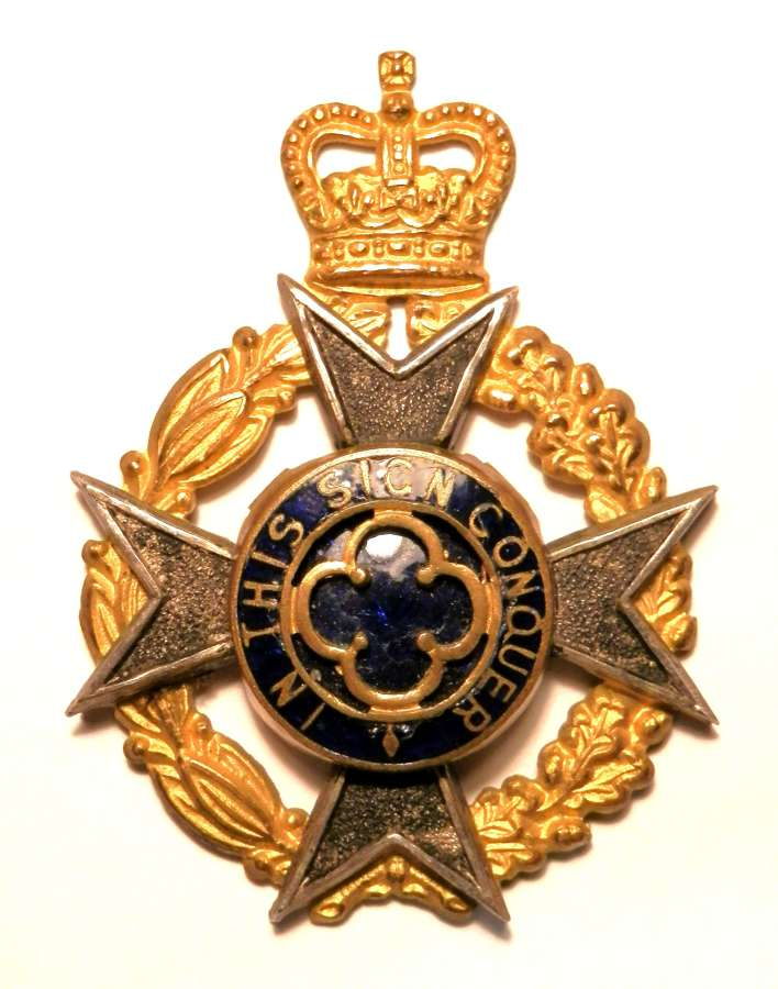 Royal Army Chaplains Department Cap Badge.