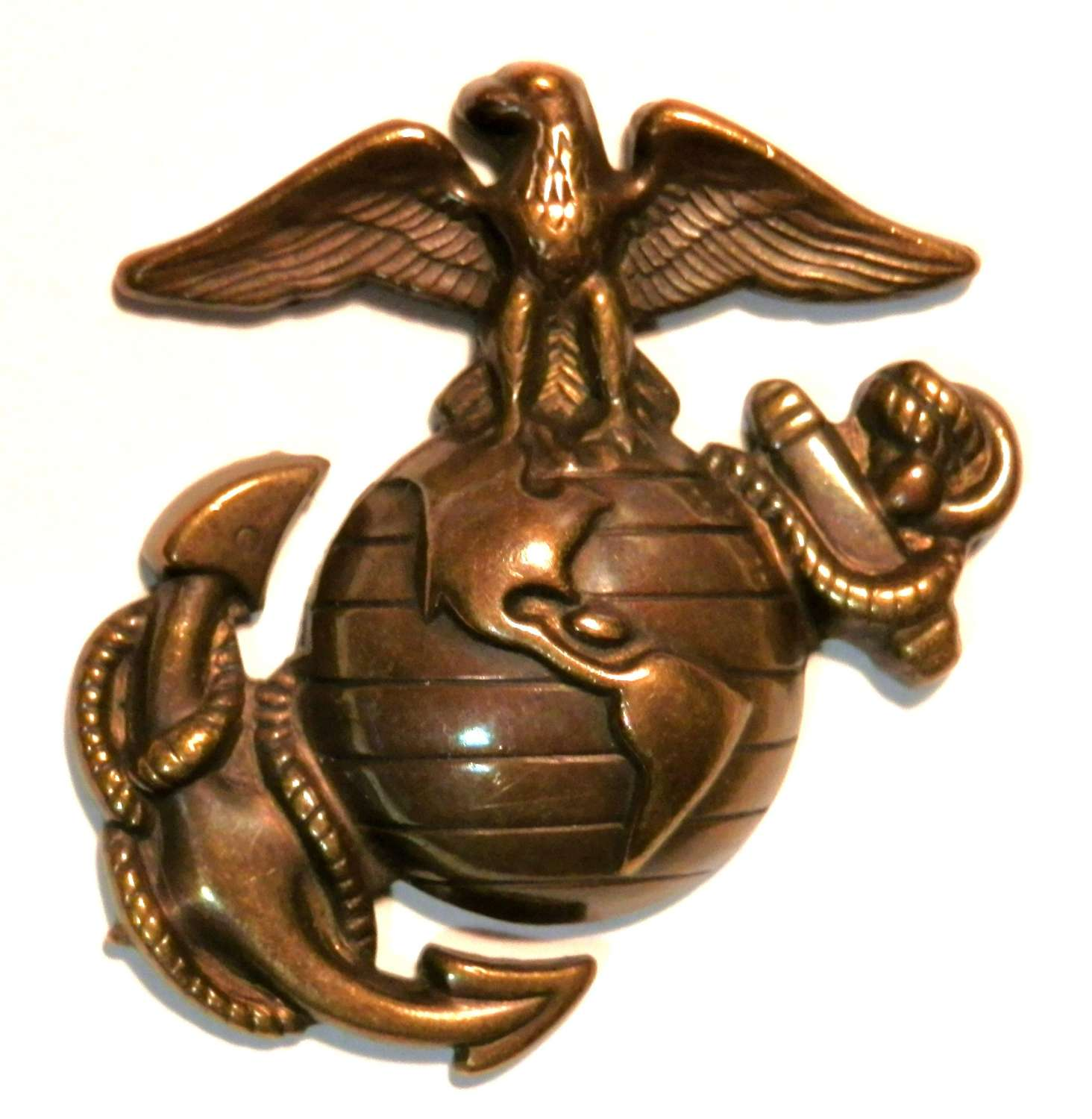 United States Marine Corp Cap Badge.