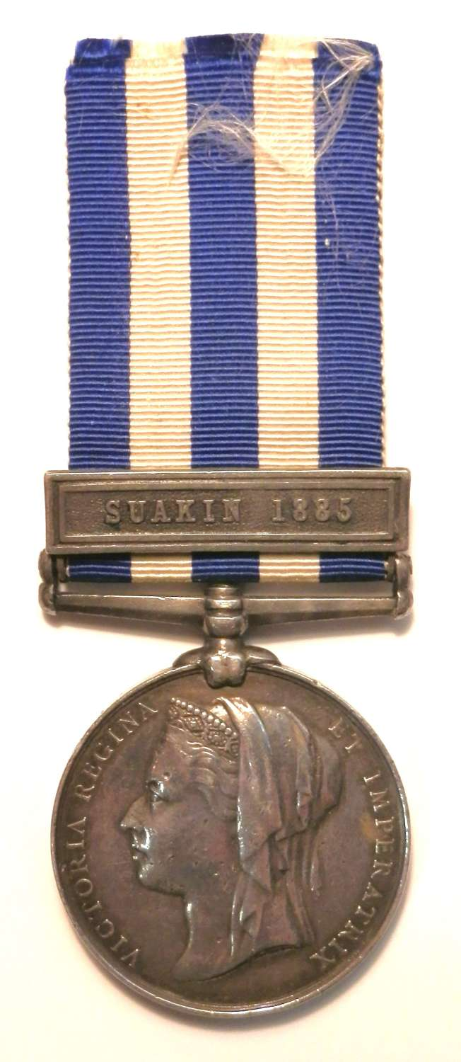 Egypt Medal 1882-89 Pte. W. Lines. 3rd Bn Grenadier Guards.