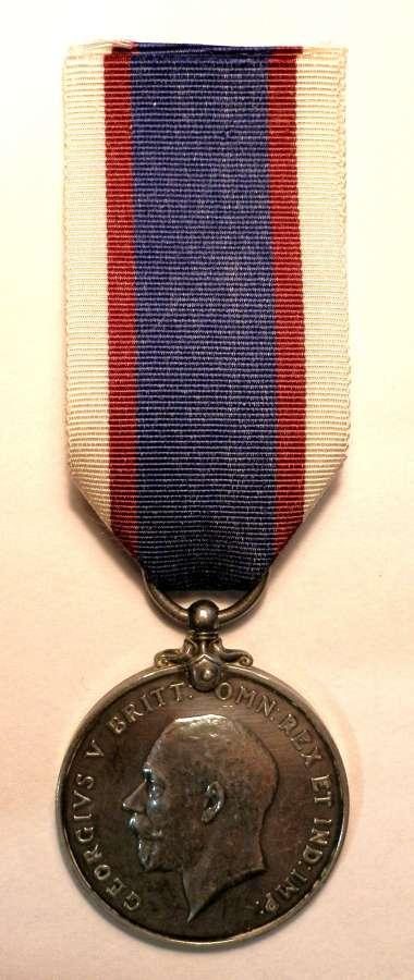 Royal Fleet Reserve Medal A. KNIGHT. A.B. R.F.R.