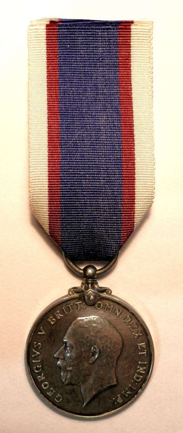 Royal Fleet Reserve Medal A. KNIGHT. A.B. R.F.R.