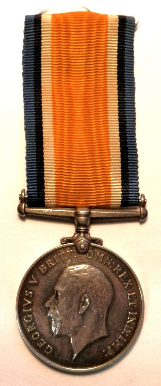 British War Medal. 2. A.M. Victor Derham. R.A.F. Served R33.
