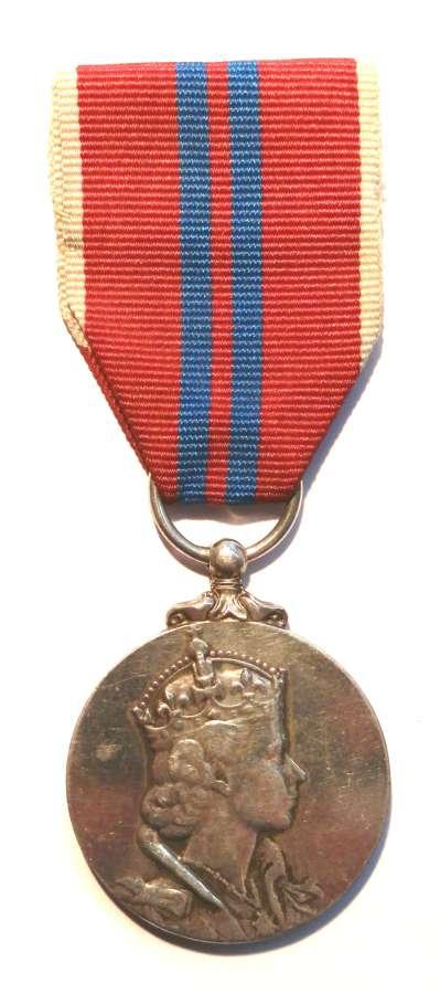 Coronation Medal 1953.