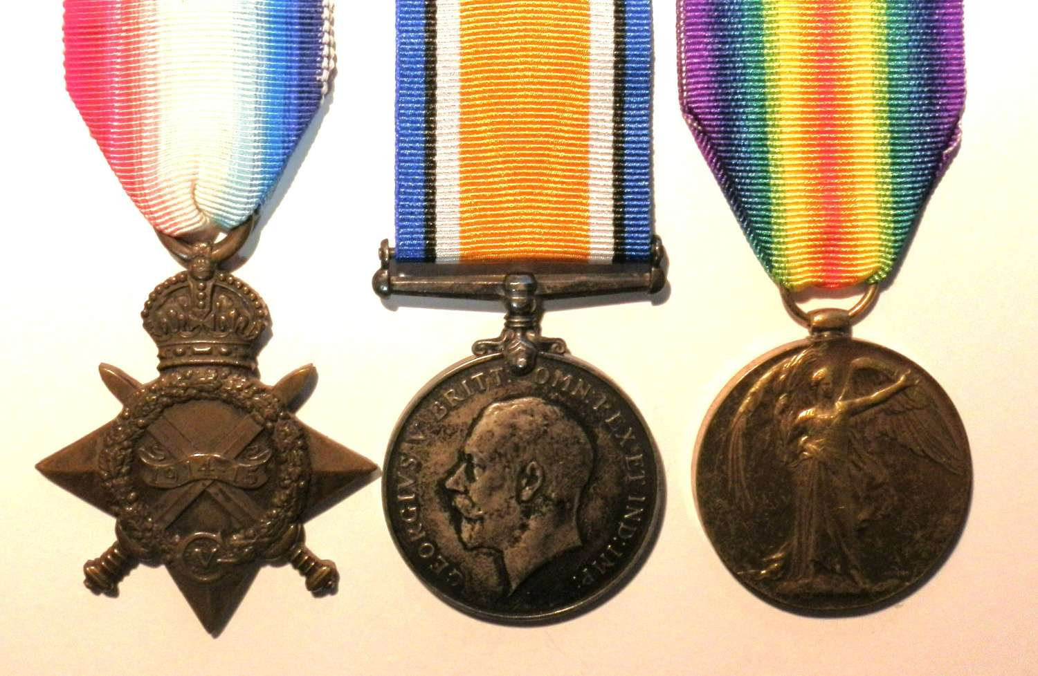 TRIO. Private J. Bitmead. Royal Army Medical Corps.