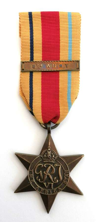 Africa Star, Clasp 8th Army