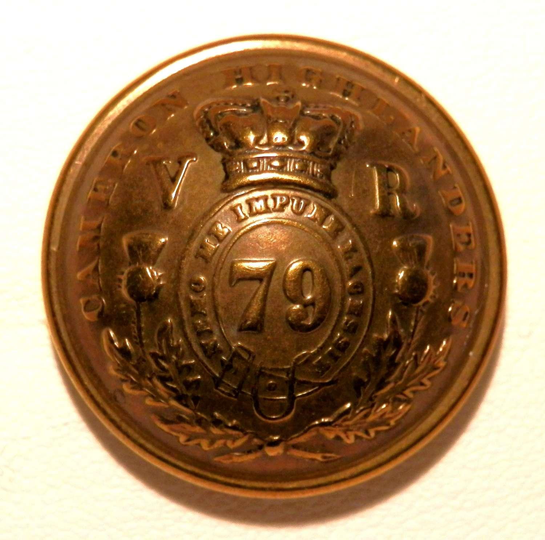 79th (Queens Own Cameron Highlanders) Regt.