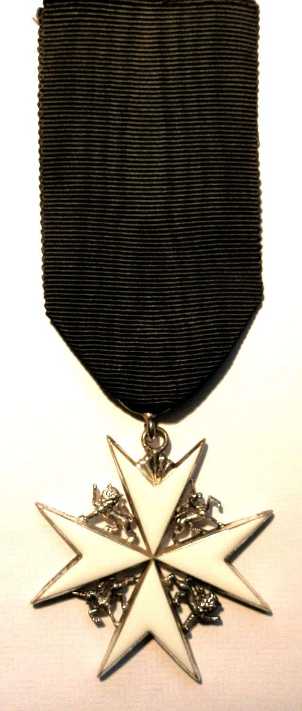 The Order of St John Officers Medal