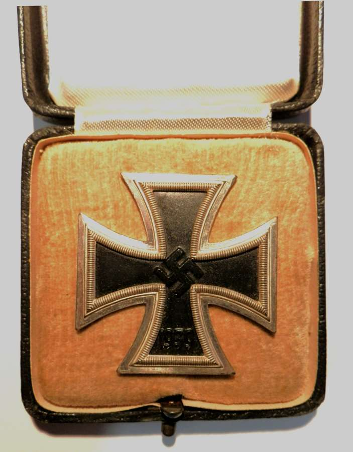 Third Reich Iron Cross, 1st Class. Makers mark 15.
