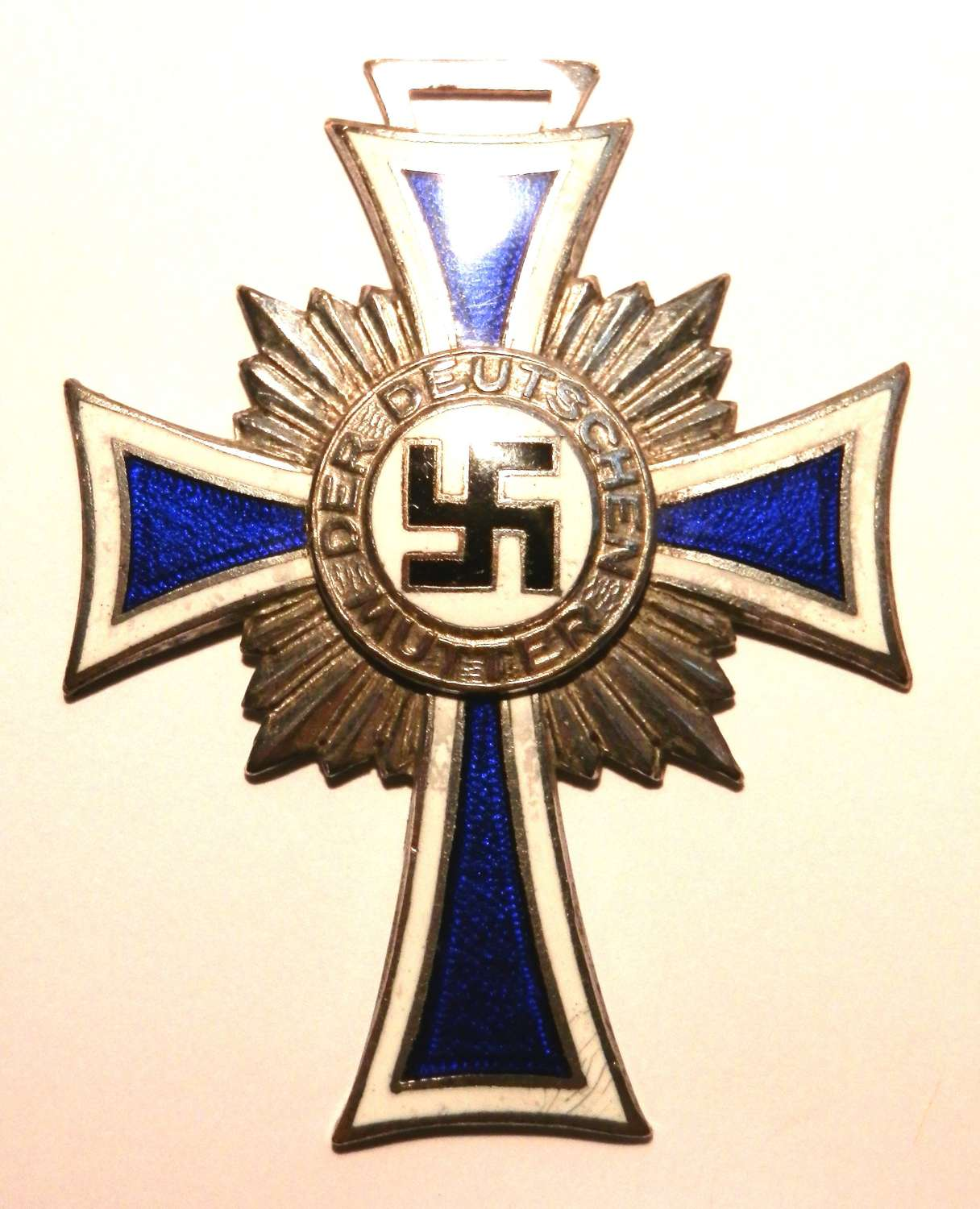 Silver Class Mothers Cross.