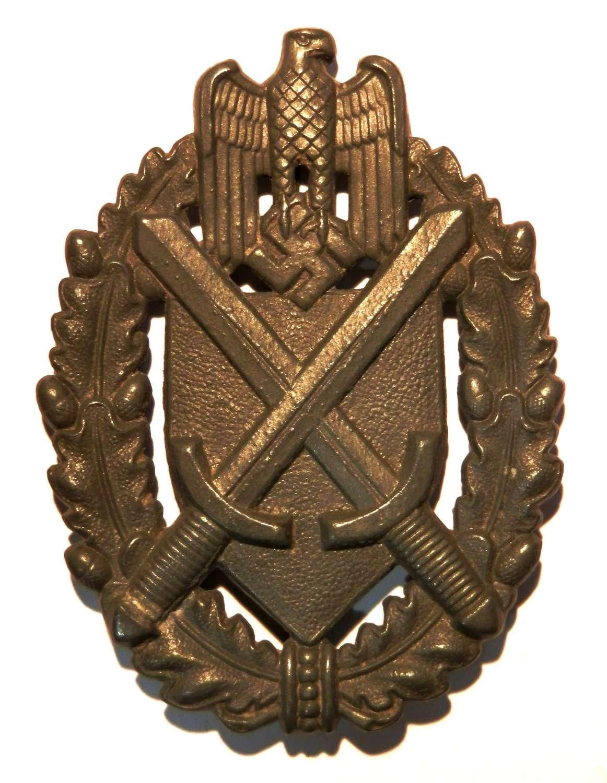 Marksmanship Wehrmacht Lanyard 1936 Pattern Badge.