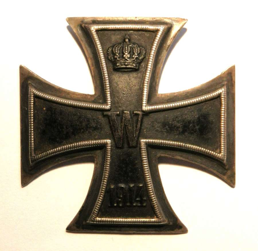 Imperial German Iron Cross, 1st Class.Marked 800