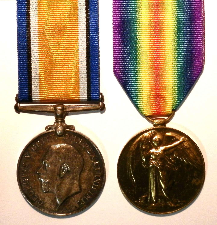 PAIR. S4-23628. S.Sjt. Thomas Jackson Army Service Corps.