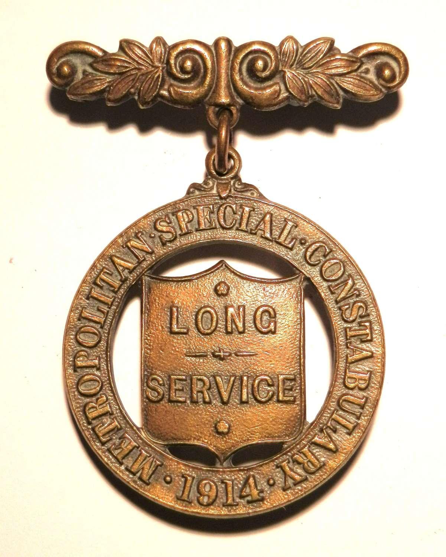 1914 Metropolitan Police Special Constabulary Medal.