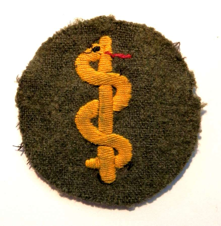 Wehrmacht Medical Peronnel's Trade Sleeve Badge.