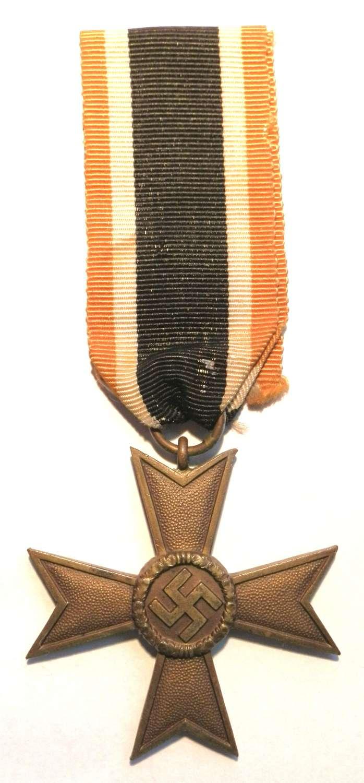 War Merit Cross, 2nd Class. None Maker Marked.