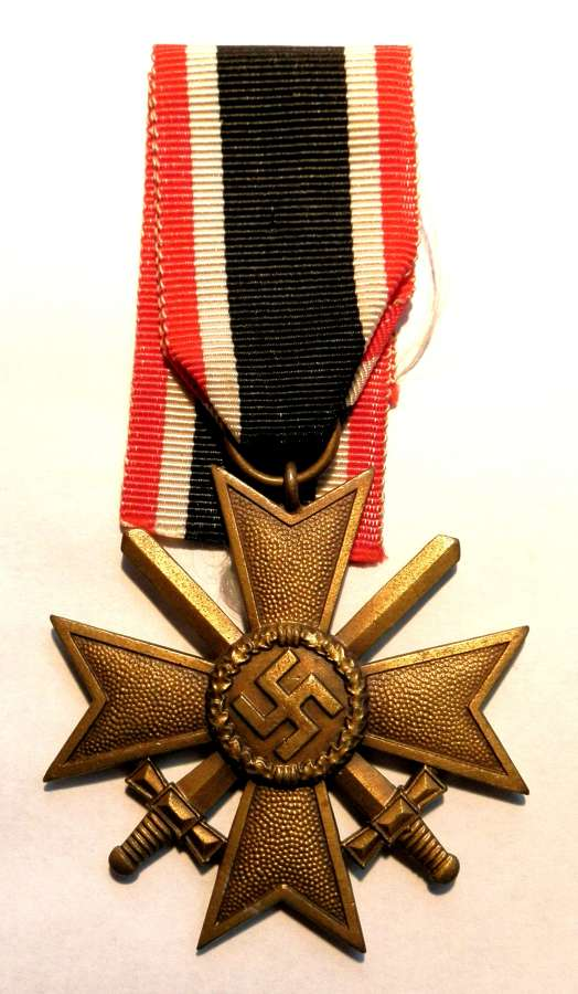 War Merit Cross, 2nd Class with Swords. Maker marked 61.
