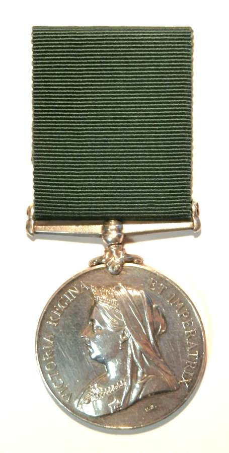 Col. Aux.Forces L. S. Medal. Gunner H. Brice. 13th Canadian Artillery