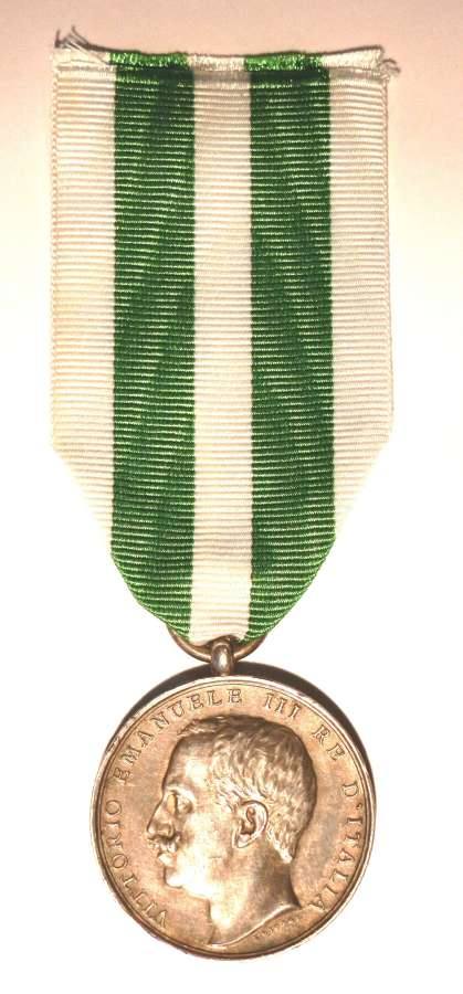 Messina Earthquarke Commemoration Medal