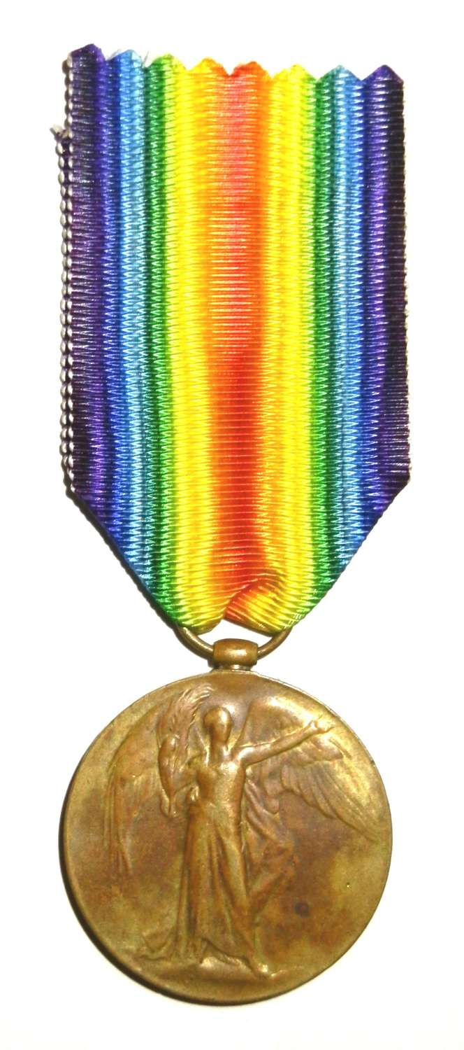 Victory Medal. Private John H. Brooks. 2nd London Regiment