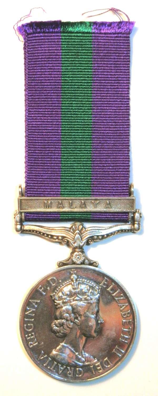 G.S.M. 1918-62. Signaler. K.J. Hughes. Royal Signals.