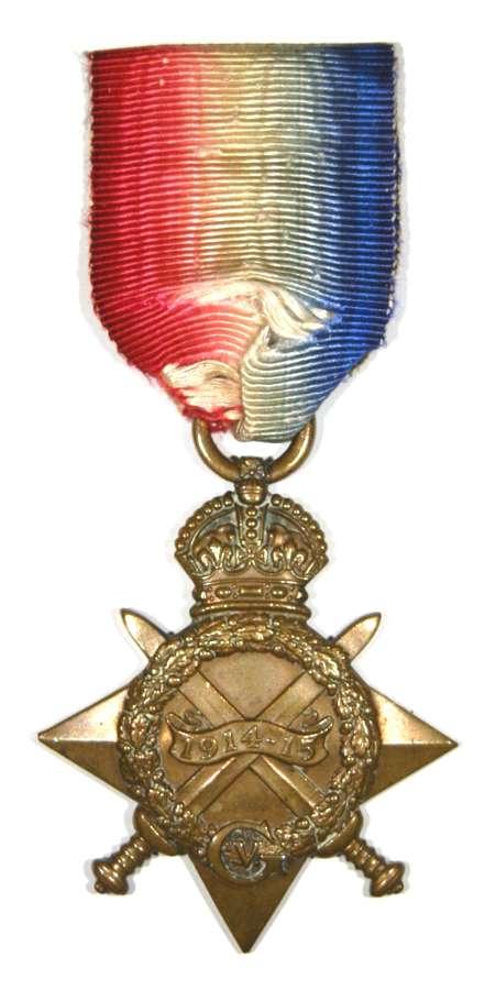 1914-15 Star. 16250 Private George Walter Garman.Norfolk Regiment.