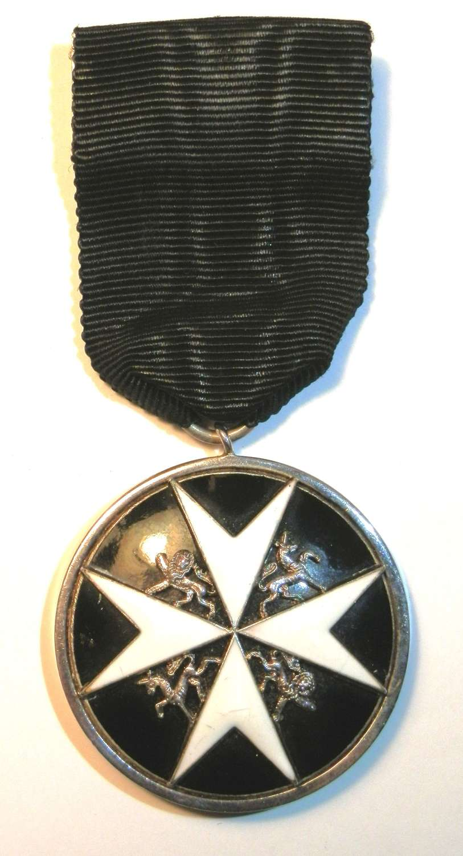 Order of St John's Serving Officers Breast Badge.