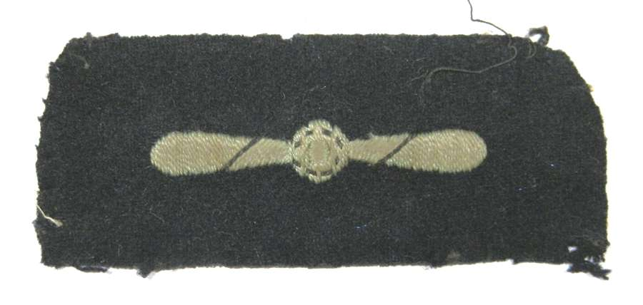 RAF Leading Aircraftman Rank Sleeve Badge.