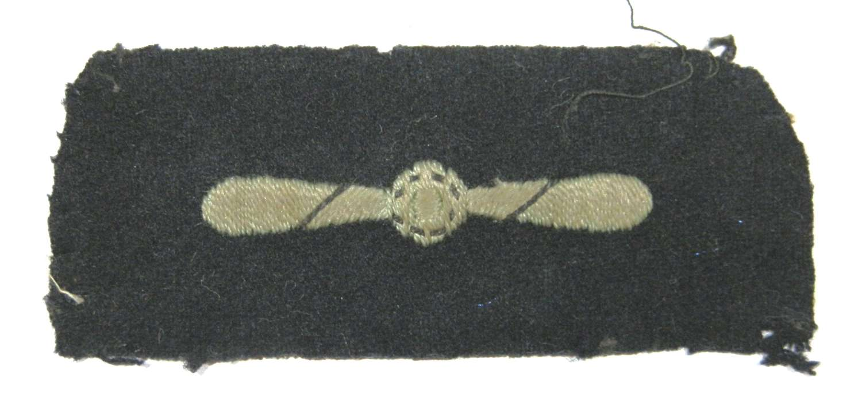 RAF Leading Aircraftman Rank Sleeve Badge.