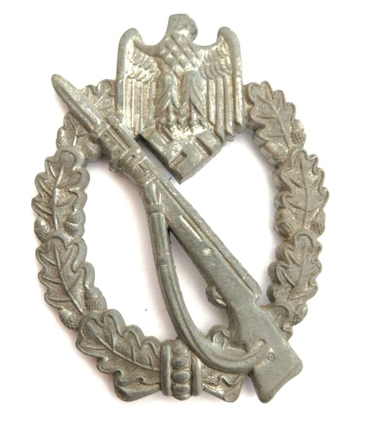 German Infantry Assault Badge. Maker marked M.K.1.