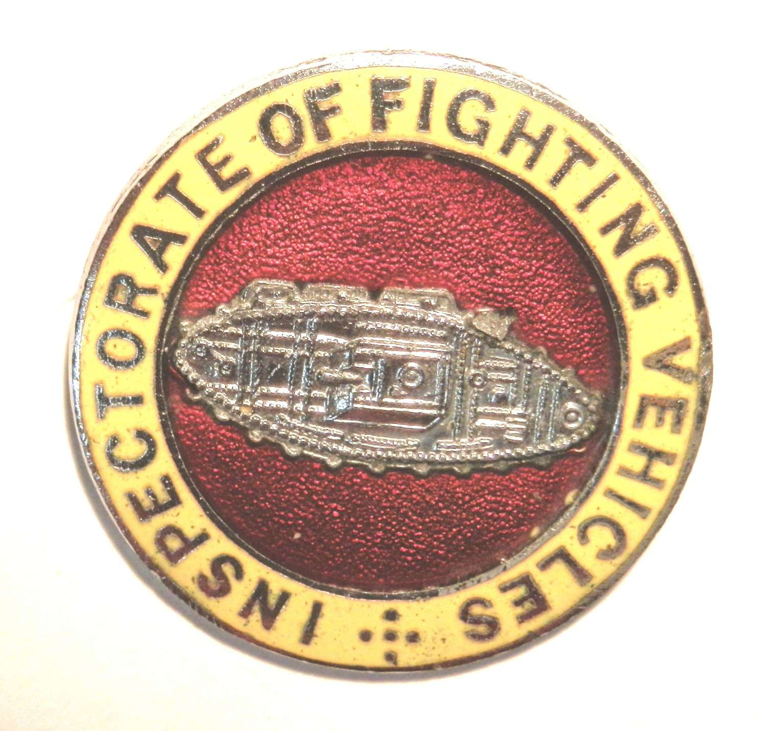 Inspectorate of Fighting Vehicles Lapel Badge