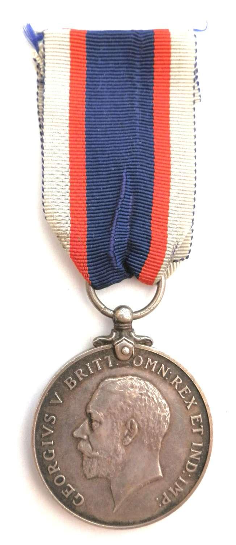 Royal Fleet Reserve Medal. J.V. Taylor A.B. R.F.R.