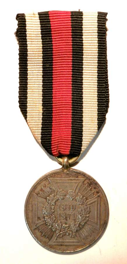 Imperial Prussian Commemorative Medal for the Franco-Prussian War