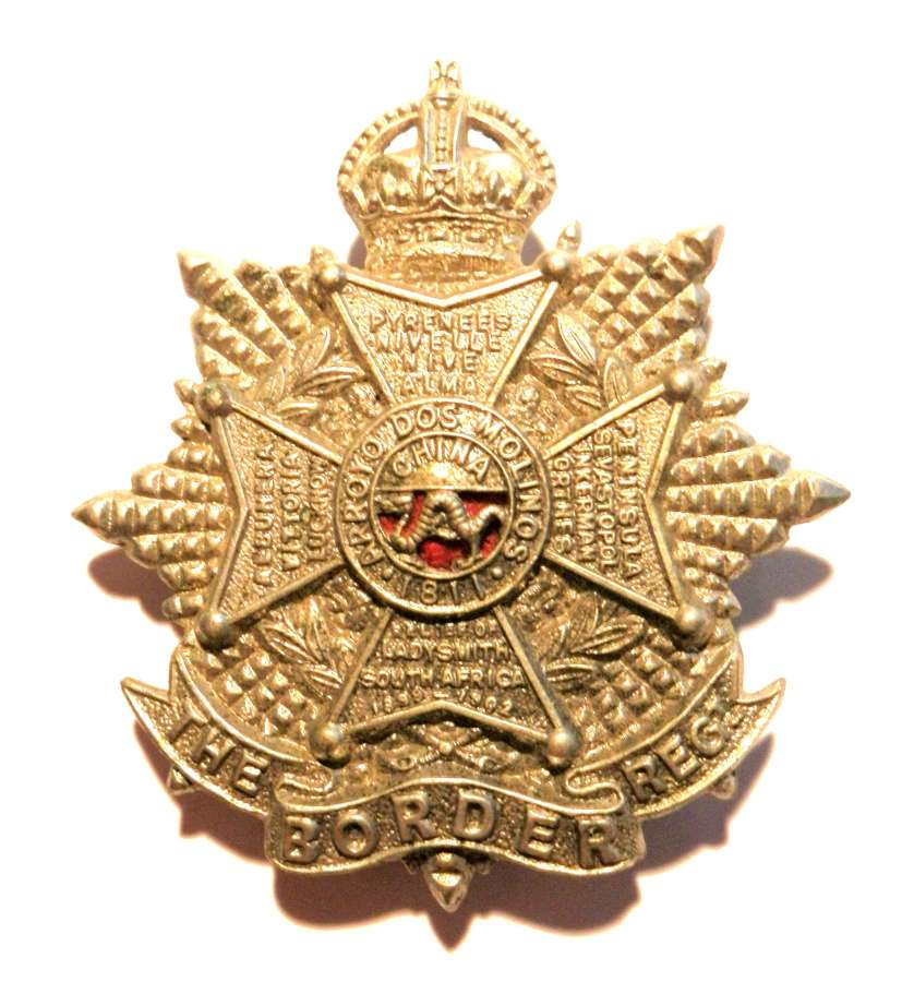 The Border Regimant Cap Badge.