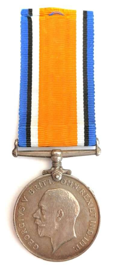 British War Medal. Sergeant Walter Osborne. East Surrey Regt. M.S.M.