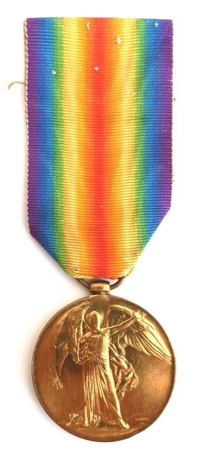 Victory Medal. Private Samuel Butler. 2nd Bn. Royal Berkshire Regiment