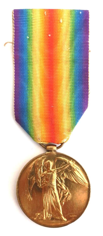 Victory Medal. Private Samuel Butler. 2nd Bn. Royal Berkshire Regiment