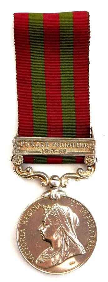 Indian General Service 1895. Corpl.E.Grant. 51st F. B. Royal Artillery