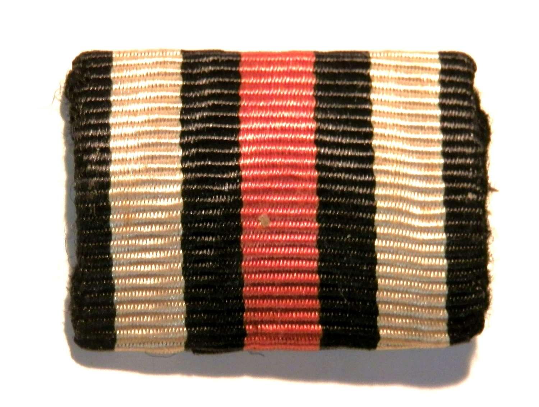 Imperial German Forces Combatants Cross of Honour 14-18. Ribbon Bar