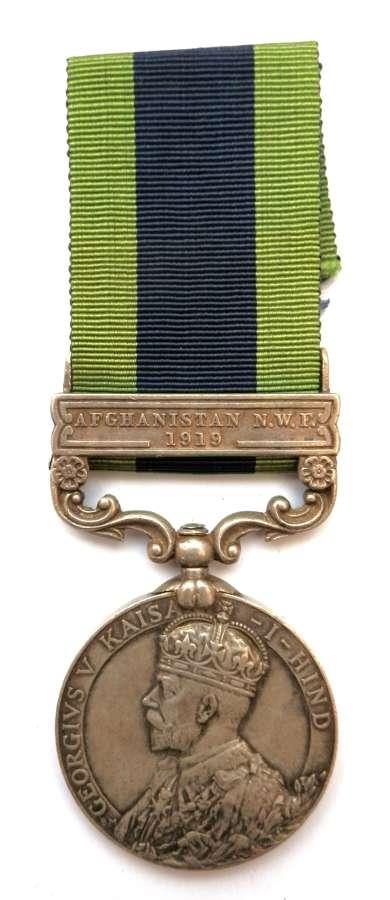 Indian General Service 1908. L.Dfdr. Said Badshah, Kurram Militia.