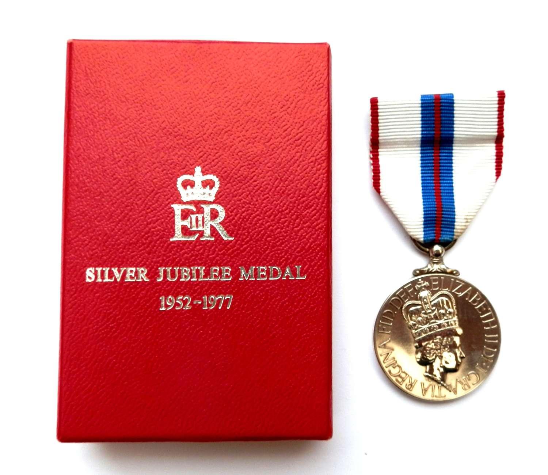 Silver Jubilee Medal 1977